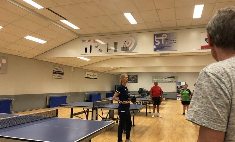 Photo of Start Oldstars Tafeltennis bij Tafeltennis Zwolle
