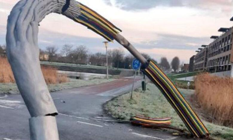 Photo of Kunstwerk De Boog wordt gerestaureerd