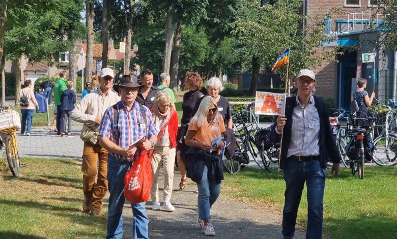 Photo of In beeld: Landelijke Walk of Peace in Zwolle