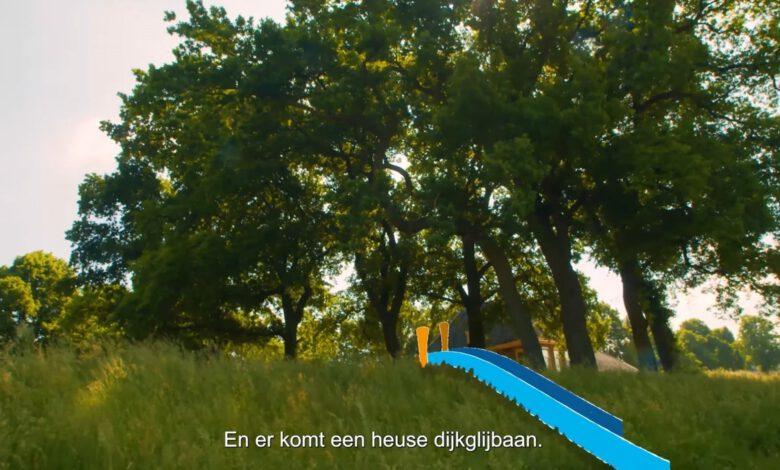 Photo of Dijkglijbaan, zitrand, wandelpaden, sporttoestellen en bankjes cadeau voor nieuwe Stadsdijken Zwolle