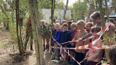 Photo of Opening natuurplein voor de kinderen van de Aquarel en de Twijn