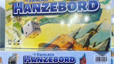 Photo of Zwolle heeft nu een eigen Ganzebord!