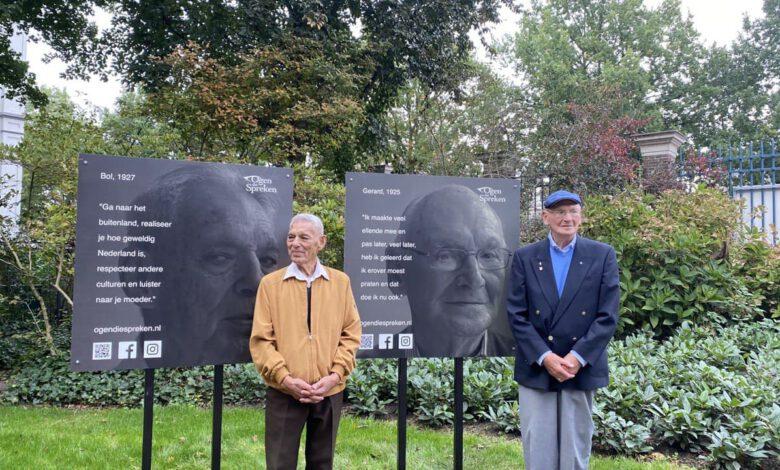 Photo of Portrettentoonstelling 'Ogen die Spreken' geopend