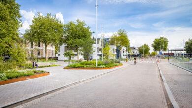 Photo of Zwolle viert en beleeft de nieuwe groene loper van en naar het centrum