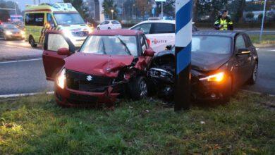 Photo of Twee gewonden bij ongeval op beruchte kruising Katerdijk